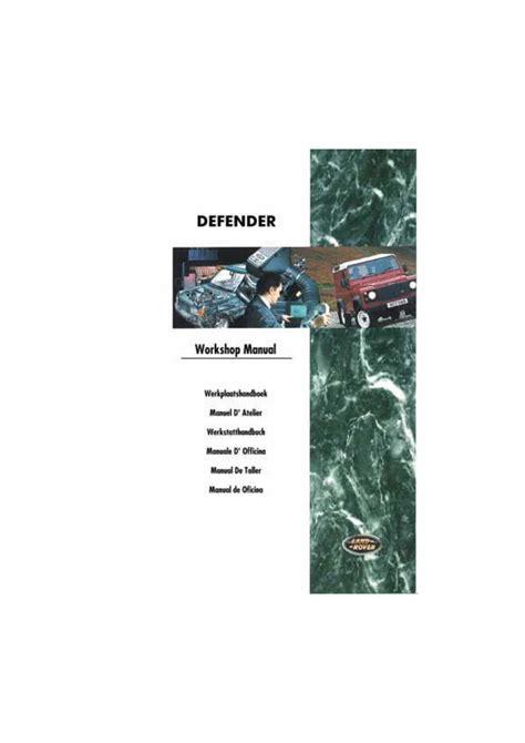 Land Rover 300tdi Engine Overhaul Service Repair Manual
