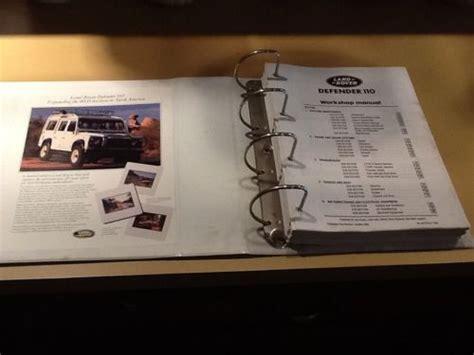 Land Rover Defender One Ten 1993 Factory Service Workshop Manual