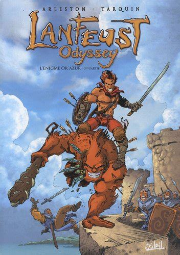 Lanfeust Odyssey Tome 1 L Nigme Or Azur
