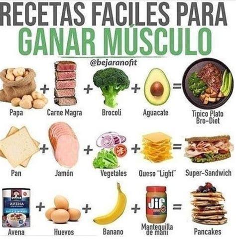 Las Mejores Recetas De Comidas Para Generar Masa Muscular Para Crossfit Las Comidas De Alto Valor Proteico Hacen Que Sea Mas Fuerte Y Mas Rapido