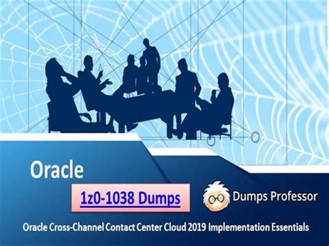 Latest 1Z0-1038-20 Braindumps Files