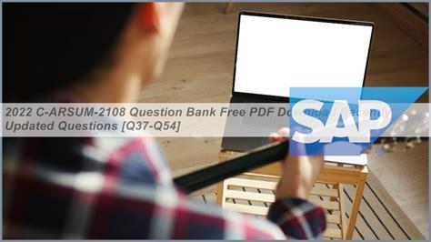 Latest C-ARSUM-2102 Exam Dumps
