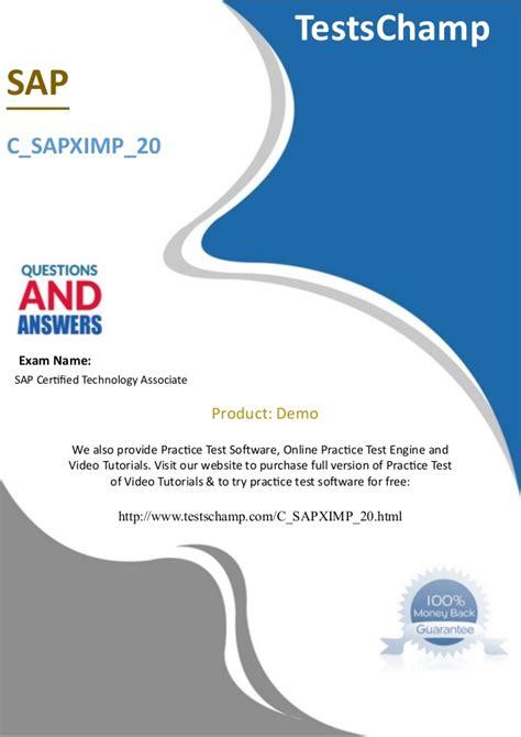 Latest C_SEN_2011 Test Pass4sure