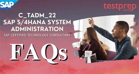 Latest C_TADM_21 Test Labs