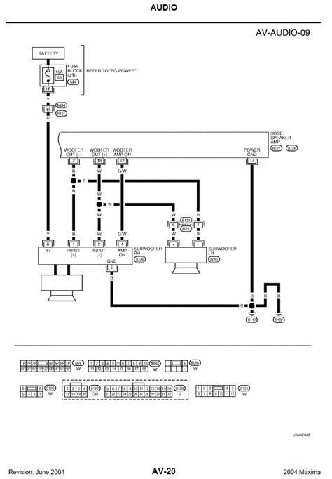 Latest Nissan Maxima Bose Wiring