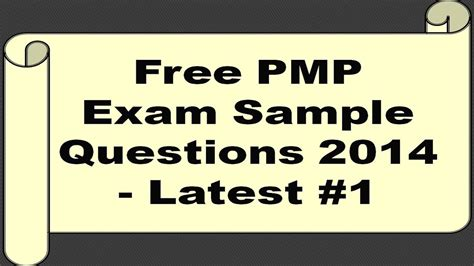 Latest PMP Questions