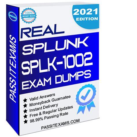 Latest SPLK-1002 Test Online