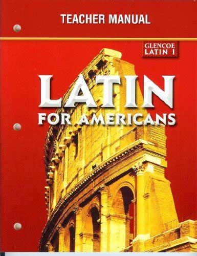 Latin For Americans Teacher Manual