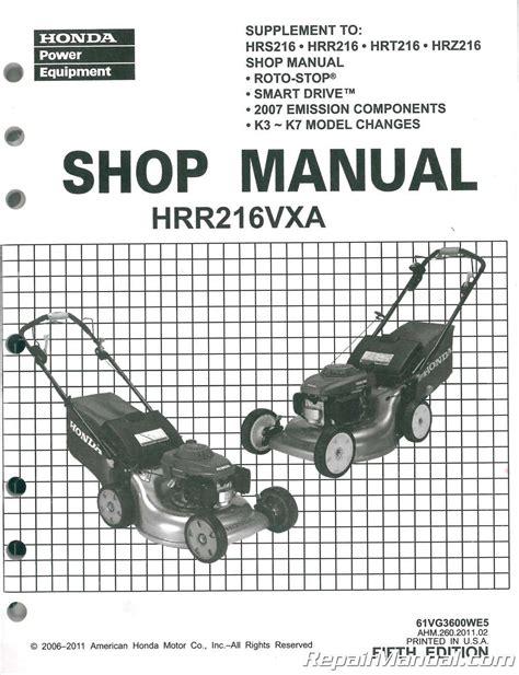 Lawn Mower Manuals