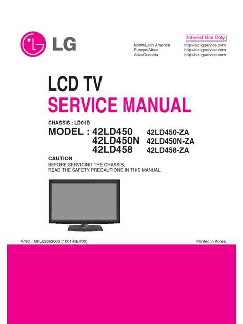 Lcd Tv Service Manual Lg