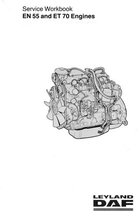 Ldv 25l En 55 Et70 Diesel Engine Manual 400 Series