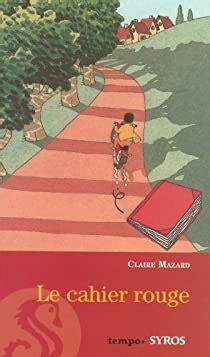 Le Cahier Rouge