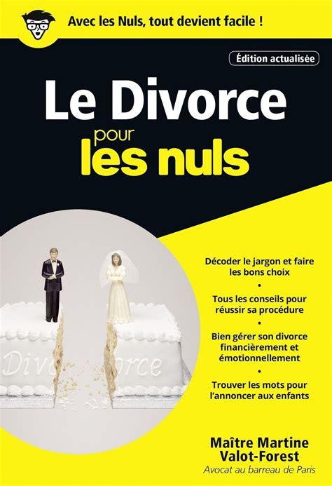 Le Divorce Pour Les Nuls Poche