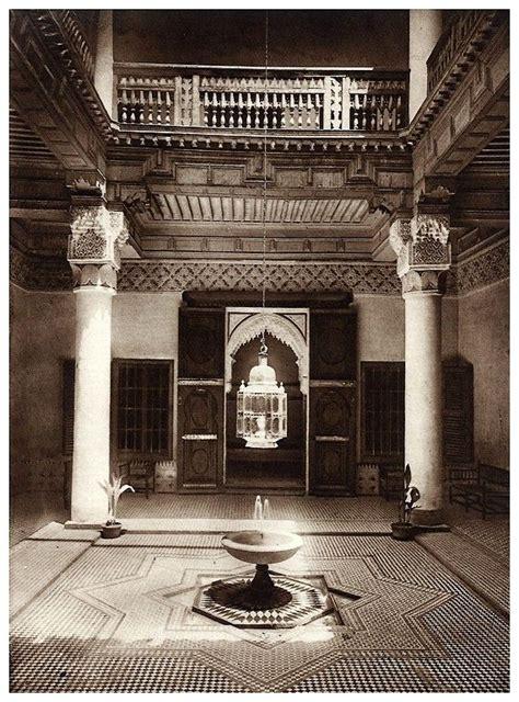Le Jardin Et La Maison Arabes Au Maroc