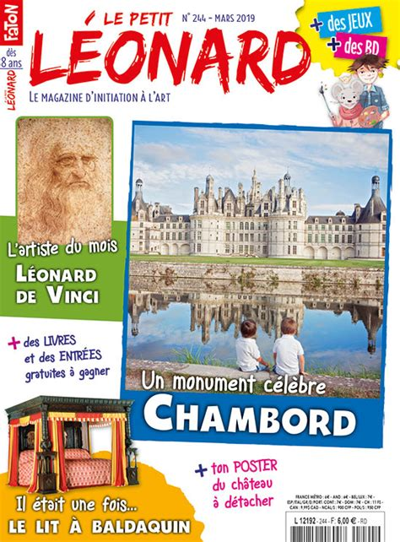 Le Petit Leonard N 244 Le Chateau De Chambord Mars 2019