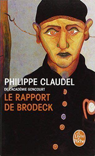 Le Rapport De Brodeck Prix Goncourt Des Lyceens 2007