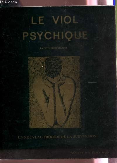 Le Viol Psychique