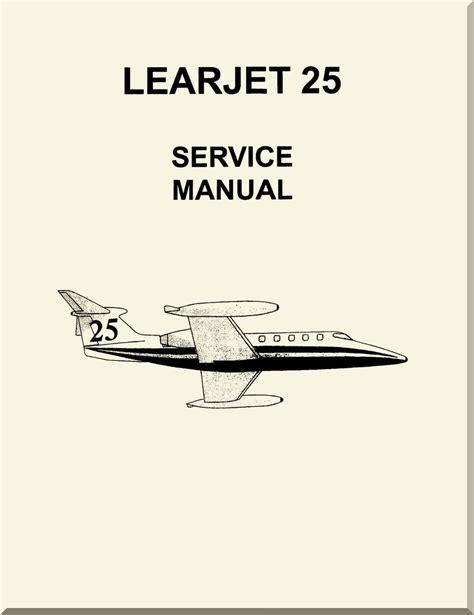 Learjet 25 Flight Manual