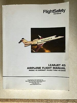 Learjet 45 Flight Manual N1