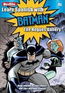 Learn Spanish With Batman Rogues Gallery