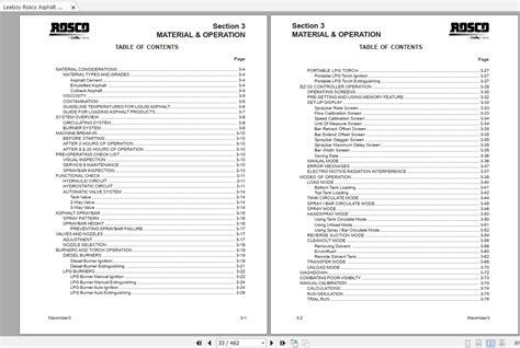 Leeboy Maximizer 3 Operators Manual
