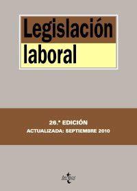 Legislacin Laboral Derecho Biblioteca De Textos Legales
