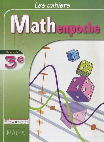 Les Cahiers Mathenpoche 3e