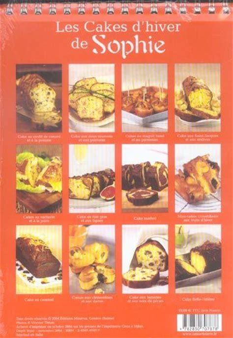 Les Cakes D Hiver De Sophie
