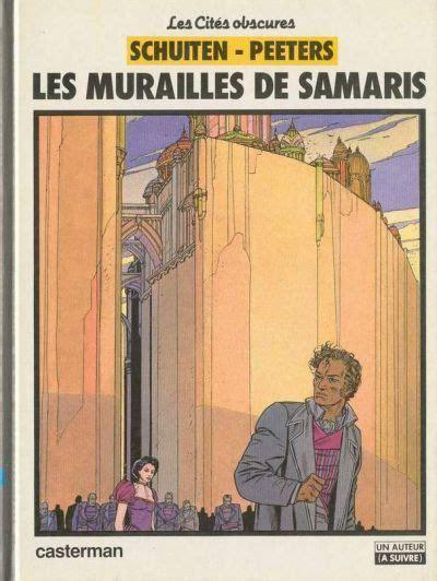Les Cités obscures - Les murailles de Samaris