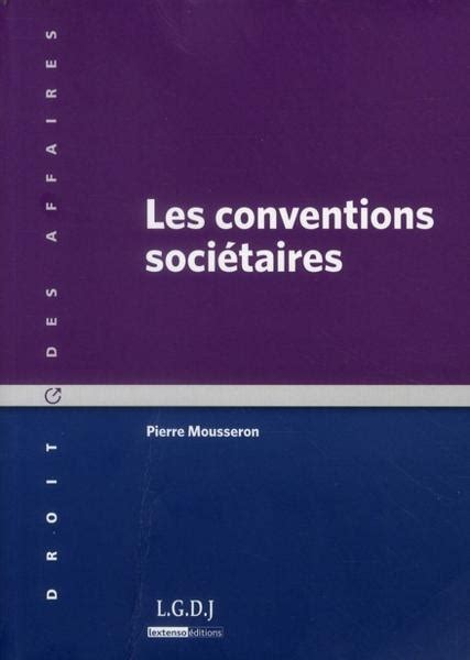 Les Conventions Societaires