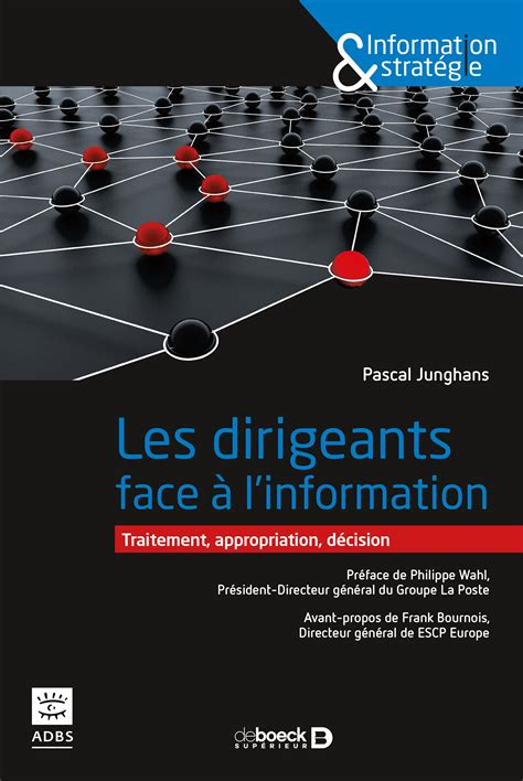 Les Dirigeants Face A L Information Traitement Appropriation Decision Information And Strategie French Edition