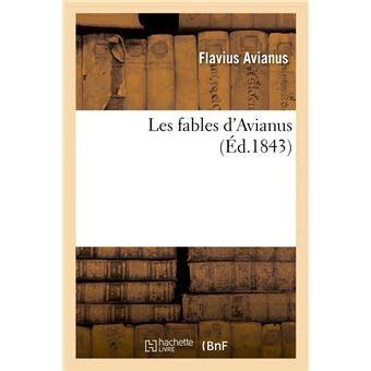 Les Fables D Avianus Ed 1843