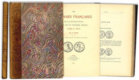 Les Monnaies Francaises De La Revolution A La Fin Du Premier Empire 1789 A 1815 Description Generale Numismastique