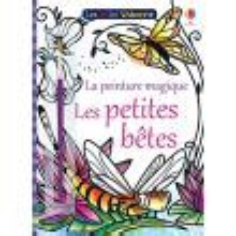 Les Petites Betes Les Mini Usborne La Peinture Magique
