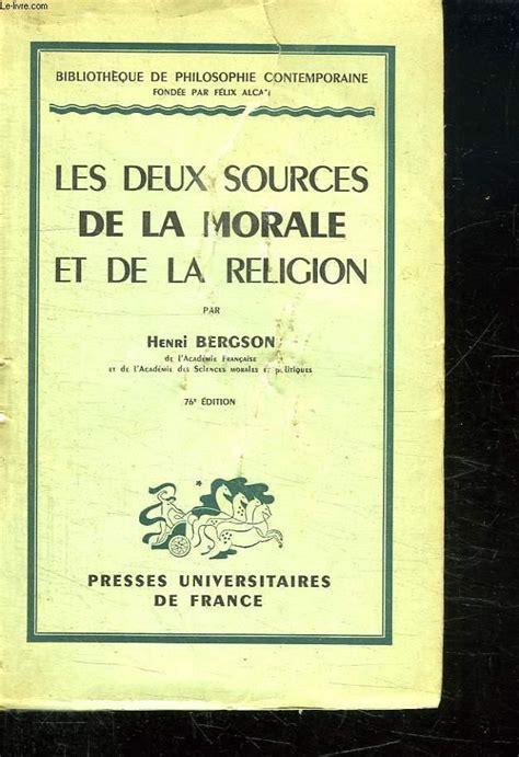 Les Sources De La Religion