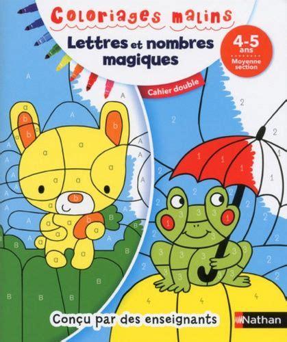 Telecharger Lettres Et Nombres Magiques Moyenne Section Cahier Double Livres