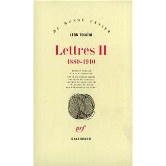 Lettres Tome 2 1880 1910