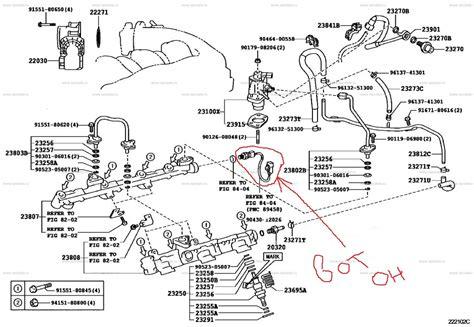 Lexus Fuel Pressure Diagram