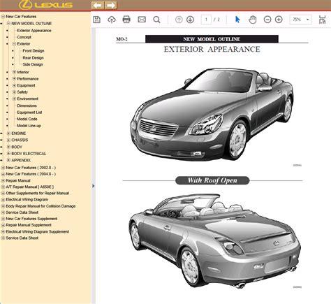 Lexus Sc430 Manual