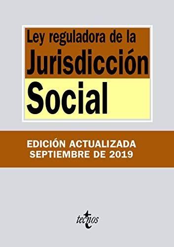 Ley De La Jurisdiccion Social Derecho Biblioteca De Textos Legales