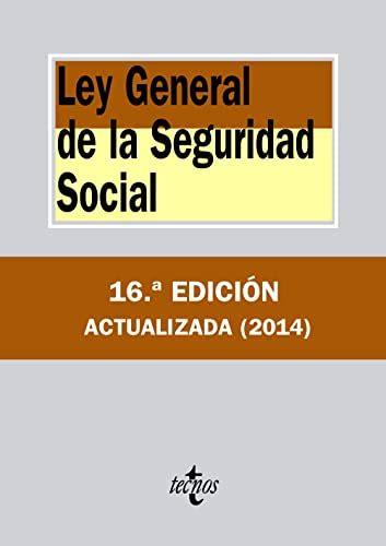Ley General De La Seguridad Social 13a Edicion 2019 Textos Legales