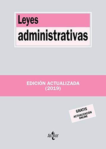 Leyes Administrativas Derecho Biblioteca De Textos Legales