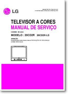 Lg 20cd2r 20cd2r Ld Tv Service Manual