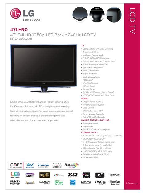 Lg 47lh90 Manual