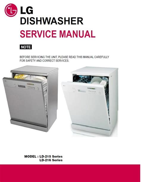 Lg Dishwasher 3850dd3006e Manual