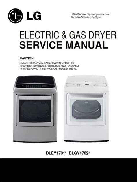Lg Dley1701v Dley1701w Service Manual And Repair Guide