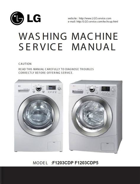 Lg F14a8td5 Service Manual And Repair Guide