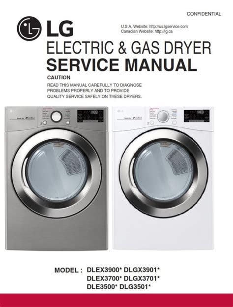Lg Gas Dryer Owner Manual