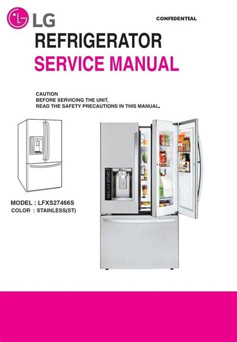 Lg Gc B397mr Service Manual And Repair Guide