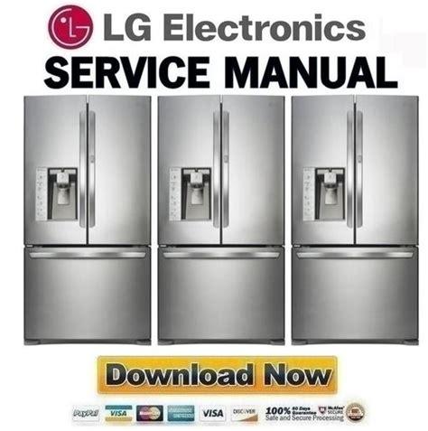 Lg Gc B397tgh Service Manual And Repair Guide